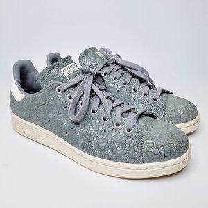 Adidas Stan Smith Onyx Snake Skin Sneakers 8.5